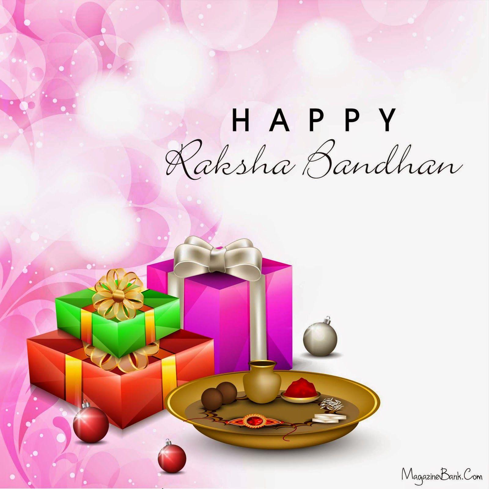 Raksha Bandhan 2014 Greetings Wallpaper For Facebook Cards