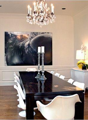Rachel Zoe's home decor- the bold focal piece of art ... on dina manzo house interior design, kris jenner house interior design, designer house interior design,