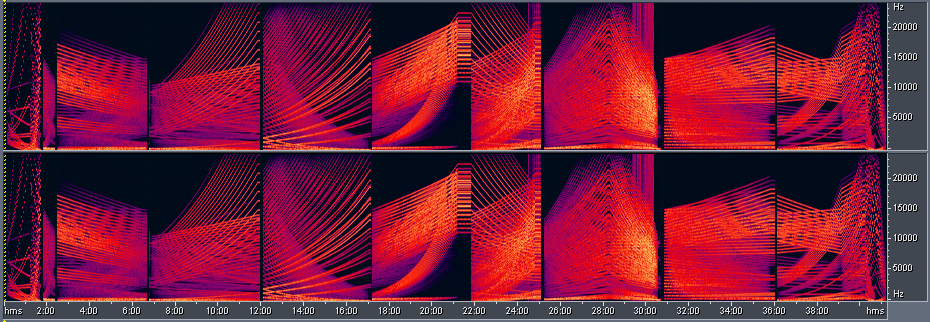 Foobar Spectrogram + AFX | Audio Spectrograms in 2019 | Art
