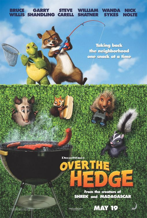 Over the Hedge (2006) | Animated Movie Key Art in 2019
