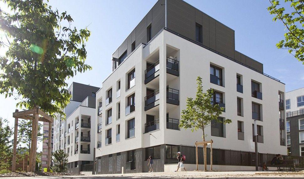 zac du bon lait lyon france logement projet architecte sud collectif pinterest. Black Bedroom Furniture Sets. Home Design Ideas