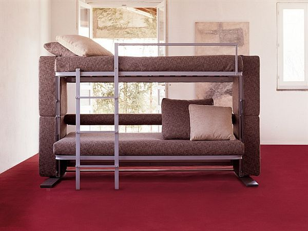 the convertible doc xl sofa bed designed for small spaces rh pinterest com