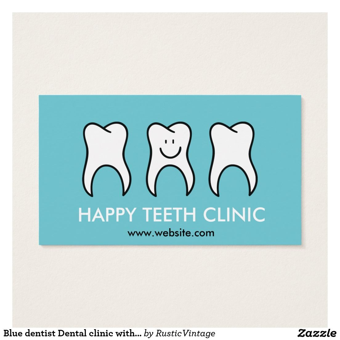 Blue dentist dental clinic with happy tooth mascot business card blue dentist dental clinic with happy tooth mascot business card reheart Image collections