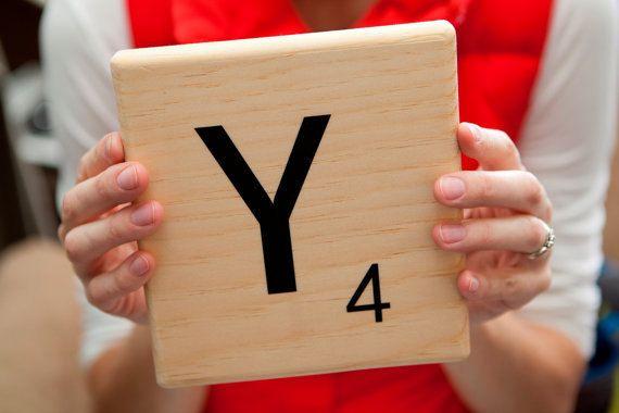 Oversized Scrabble Tiles Diy Vinyl Decal For 6 8 Quot Tile