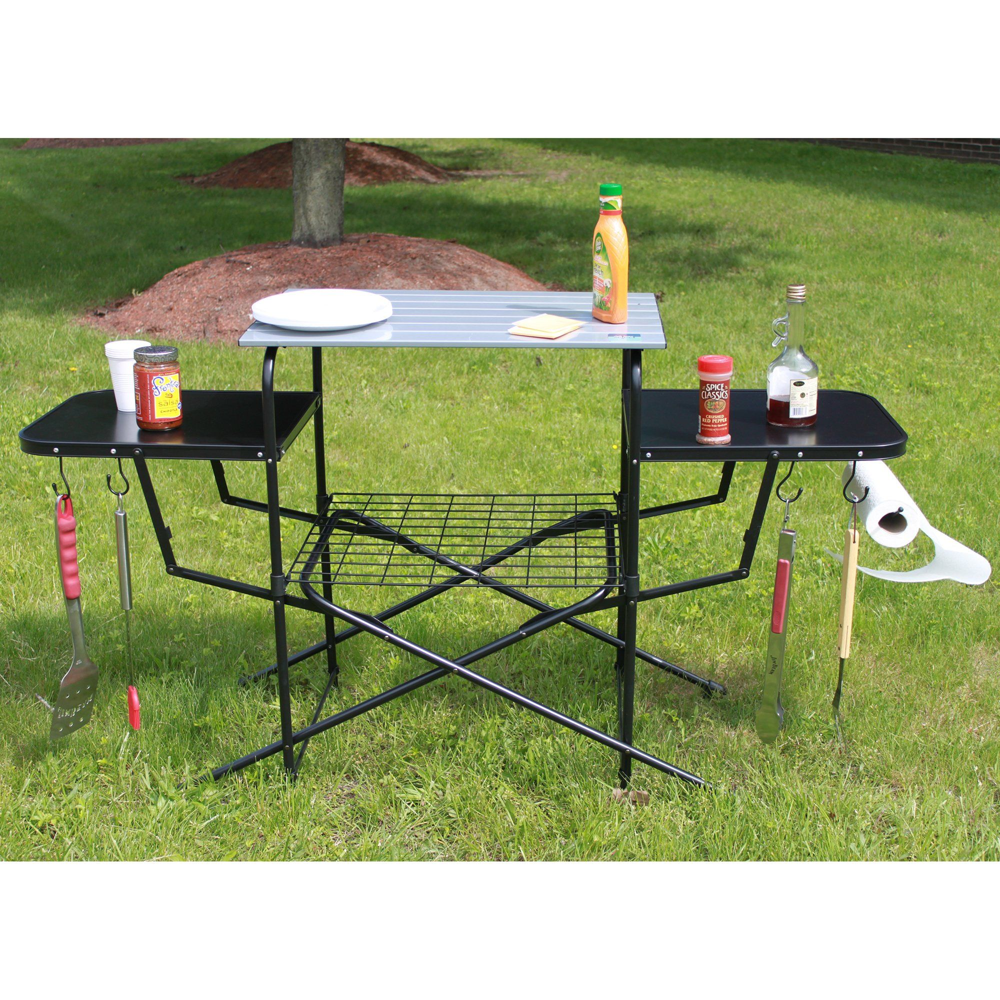 chefs basics select outdoor folding grilling table products rh pinterest com