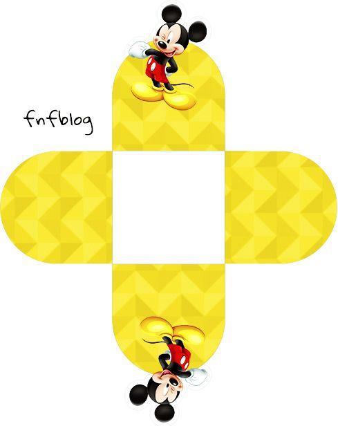 Forminhas Docinhos 3d Mickey Aniversario Do Mickey Mouse Mickey