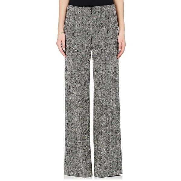 Womens Tweed Wide-Leg Trousers Derek Lam 6ALXdI