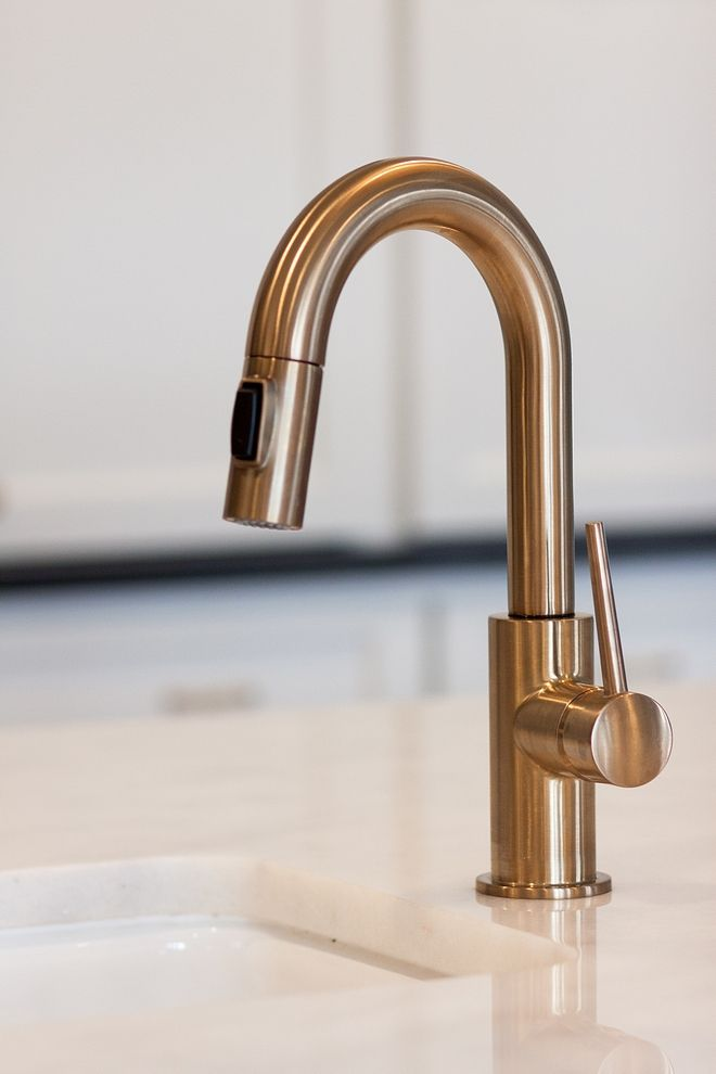 Pre Sink Faucet Is By Delta Champagne Bronze Kitchen Island Prep