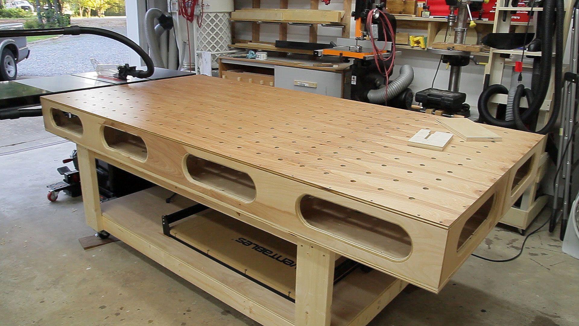 Paulk Workbench Changes Woodworking Benches Paulk