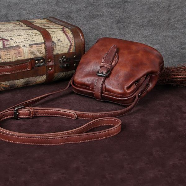 8032871832 Genuine Leather Handmade Vintage Crossbody Shoulder Bags Purses Accessories  Gift Women good bag