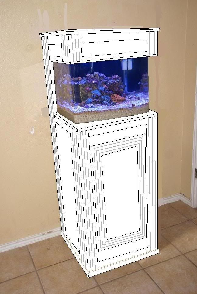 29 gallon BioCube HQI with MP40 u0026 custom stand/canopy - Reef Central Online Community & 29 gallon BioCube HQI with MP40 u0026 custom stand/canopy - Reef ...