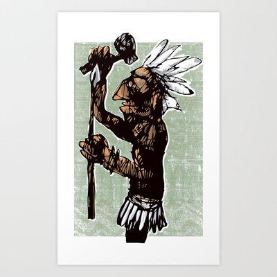 native nation Art Print by jenapaul - $17.68
