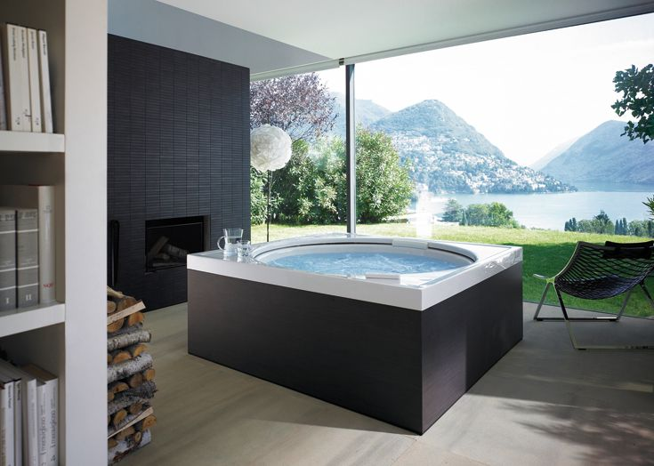 Experience The Floating Effect And Let Yourself Be Carried Away In Our Blue Moon Pool Eingebaute Badewanne Whirlpool Badewanne Badewanne