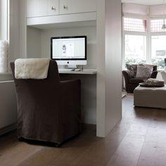 maatwerk bureau woonkamer - google zoeken - woonkamer werkplek, Deco ideeën