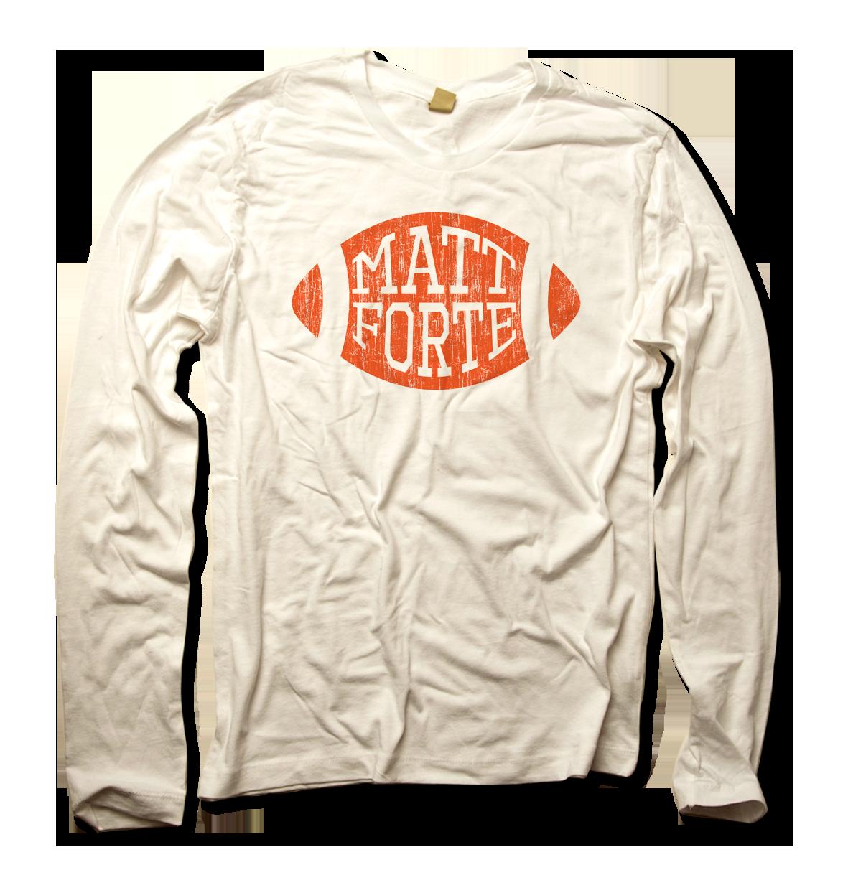 Matt Forte Orange Football