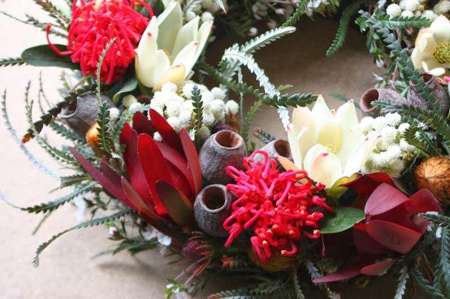 Swallows Nest Farm Merry Christmas And Happy New Year Xmas Flowers Australian Christmas Aussie Christmas