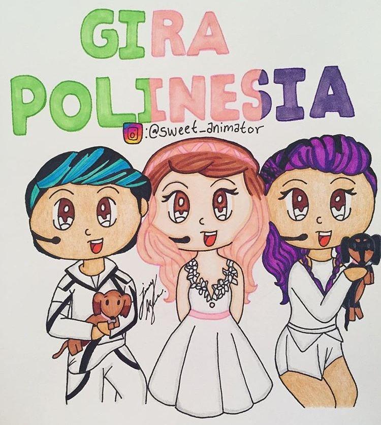 Los Polinesios Polinesios Kawaii Cute Drawings Youtubers Y Cute