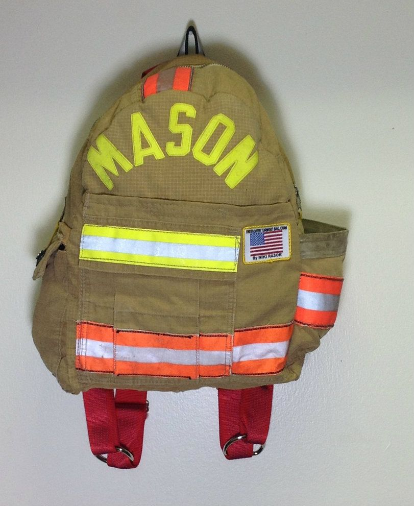 Recycled bunker gear bags - Firefighter Turnout Bags By Niki Rasor Rig Backpack 140 00 Http