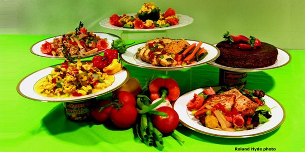 Caribbean Jamaican Dishes By Chef Alton Henry Presentation Of A