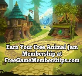 How To Get A Membership For Free On Animal Jam