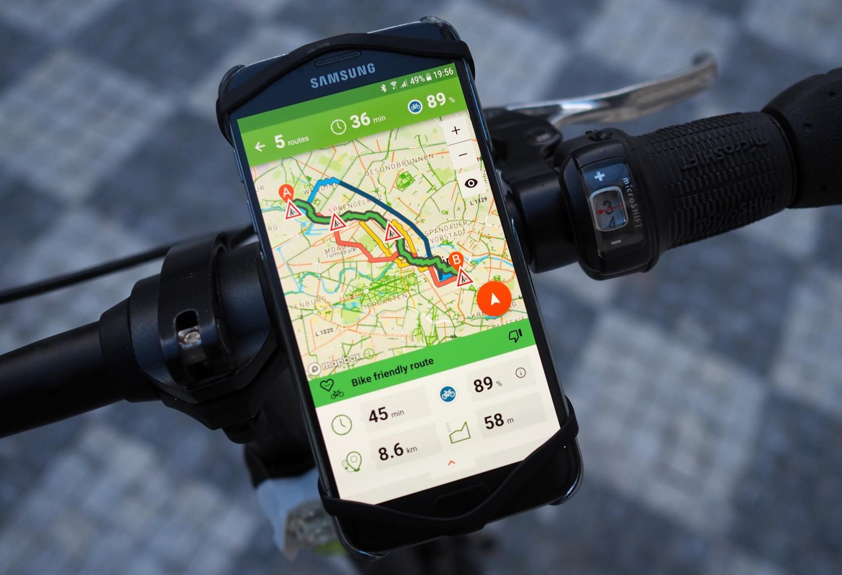 Ai Cycling Navigation Can Suggest Several Routes Optimized To Cyclist Individual Preferences