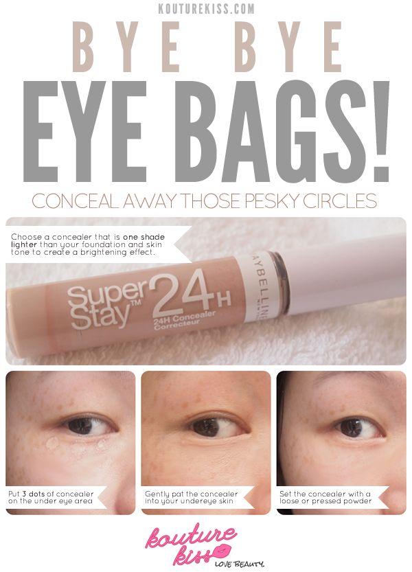 Conceal Away Those Pesky Eye Bags! - Kouturekiss - Your ... - photo#34