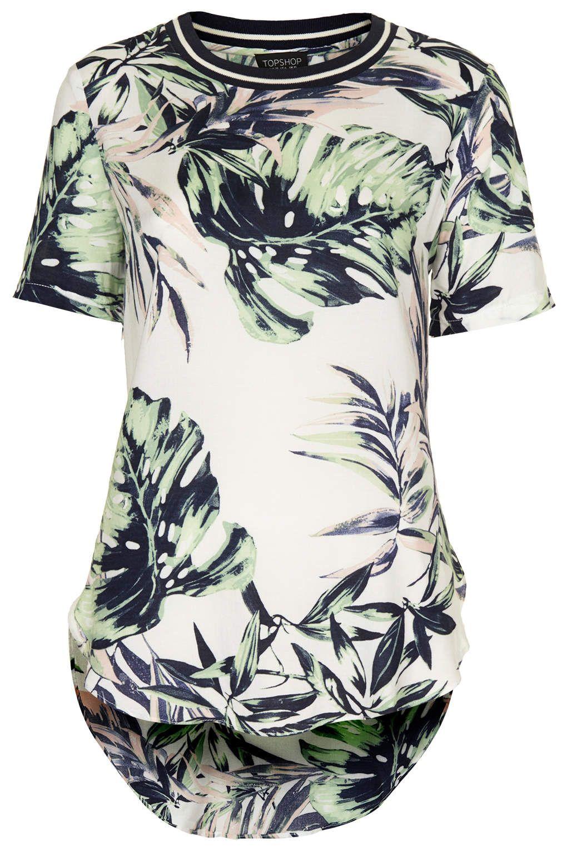 side split tee shirt