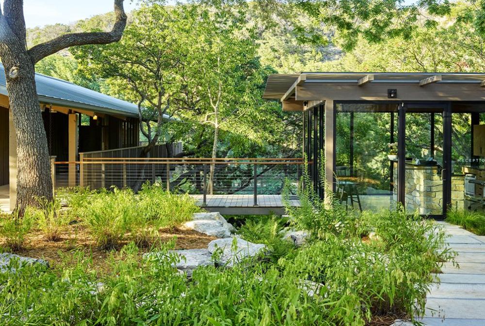 Laity Lodge Ten Eyck Landscape Architects Inc Hardscape Landscape Architect Lodge