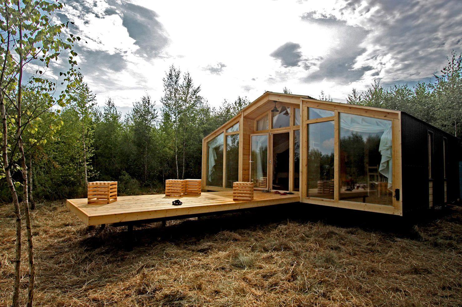 ein gro artiges modulhaus gebaut an nur einem tag haus skandinavisches haus und fertigh user