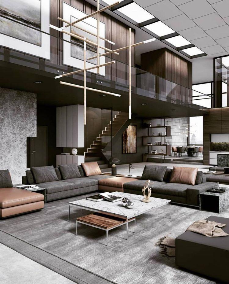 I Really Like The Harmonious Color Scheme Here In 2020 Living Room Design Modern Modern Luxury Interior Luxury Living Room