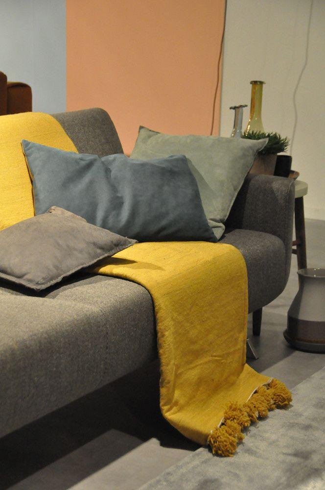 Woontrend yellow blush inspiratie eijerkamp interieur woontrends wooni - Interieur taupe beige ...