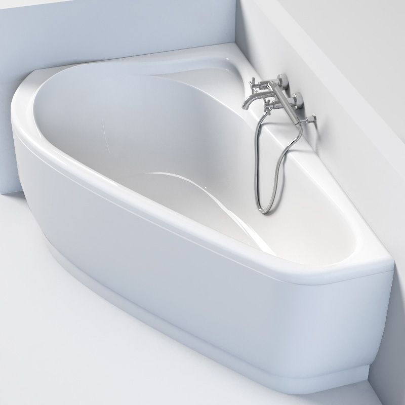 baignoire d angle asymetrique gauche