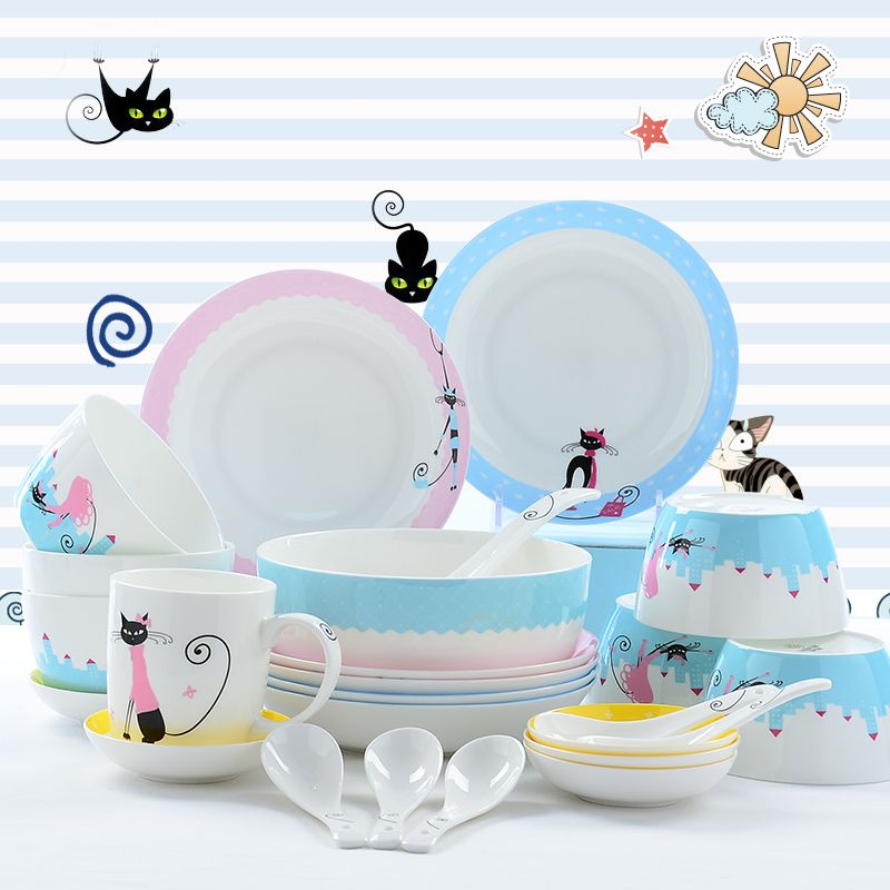 Cheap korean dinnerware set Buy Quality plate set directly from China designer plate sets Suppliers  sc 1 st  Pinterest & Cheap korean dinnerware set Buy Quality plate set directly from ...