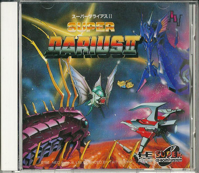 Super Darius II for PC Engine CD-ROM #PCEngine #CD-ROM