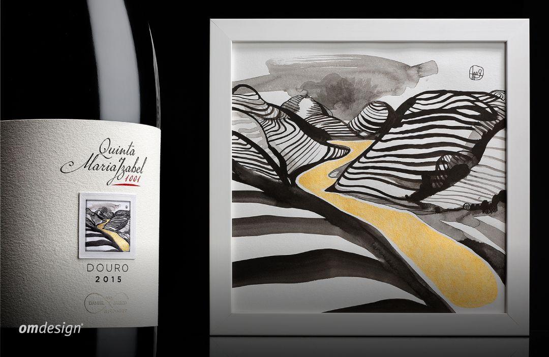 Quinta Maria Izabel 1001 (2018)  #Omdesign #Design #Portugal #LeçadaPalmeira #Since1998 #AwardedAgency #WinePackaging #PackagingDesign #QuintaMariaIzabel #AnticWines #Douro #IVDP #PortugueseWines #WinesofPortugal #Awards #DesignAwards