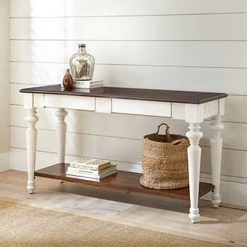 Terrific Addie Sofa Table Rubberwood Solids Birch Veneersantique Interior Design Ideas Inesswwsoteloinfo