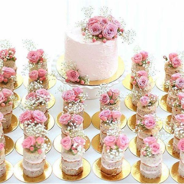 33 Mini Wedding Cake Ideas for Your Big Day -   19 cake Mini wedding ideas