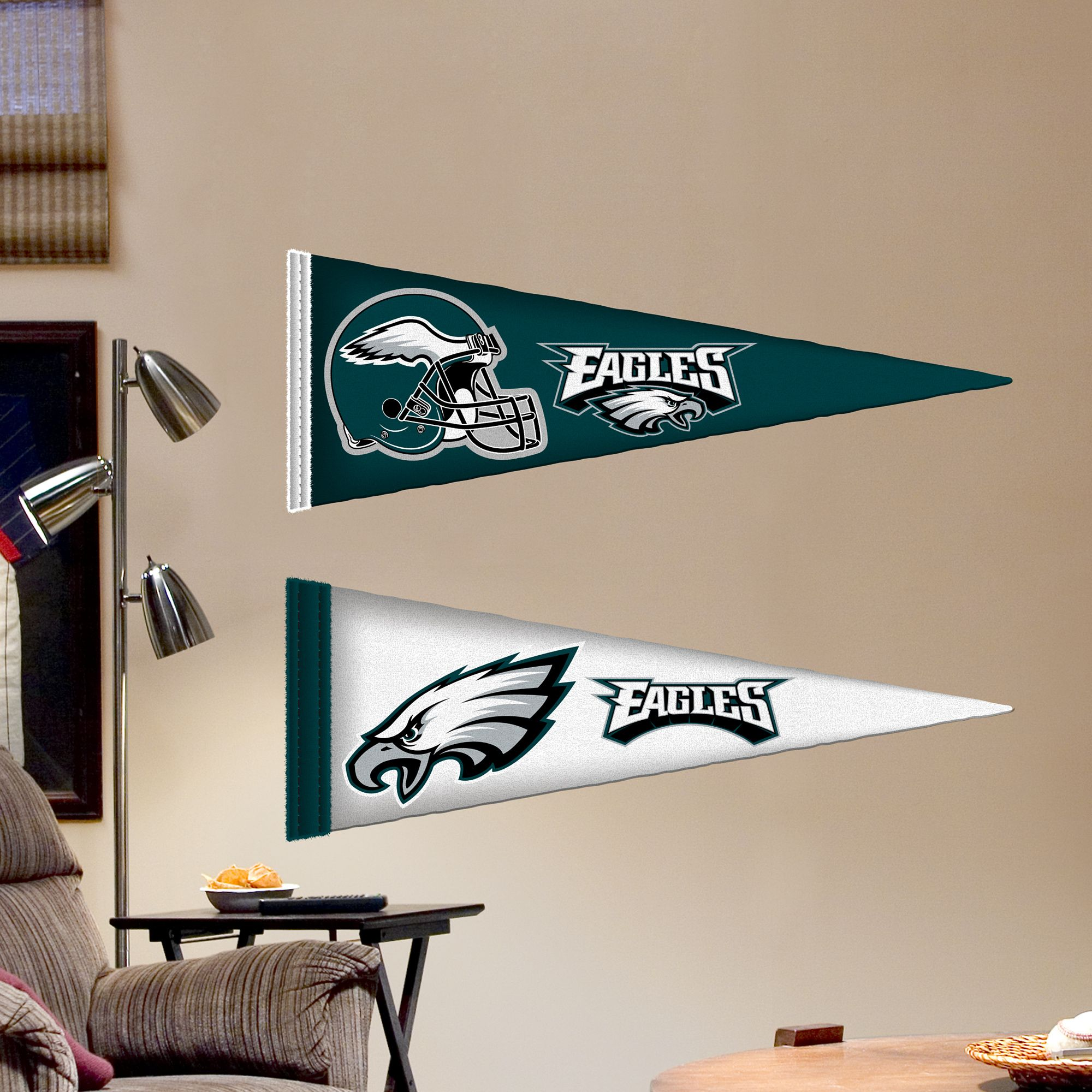 Philadelphia Eagles Pennants - Fathead Jr. | Philadelphia Eagles Wall Decal & Philadelphia Eagles Pennants - Fathead Jr. | Philadelphia Eagles ...