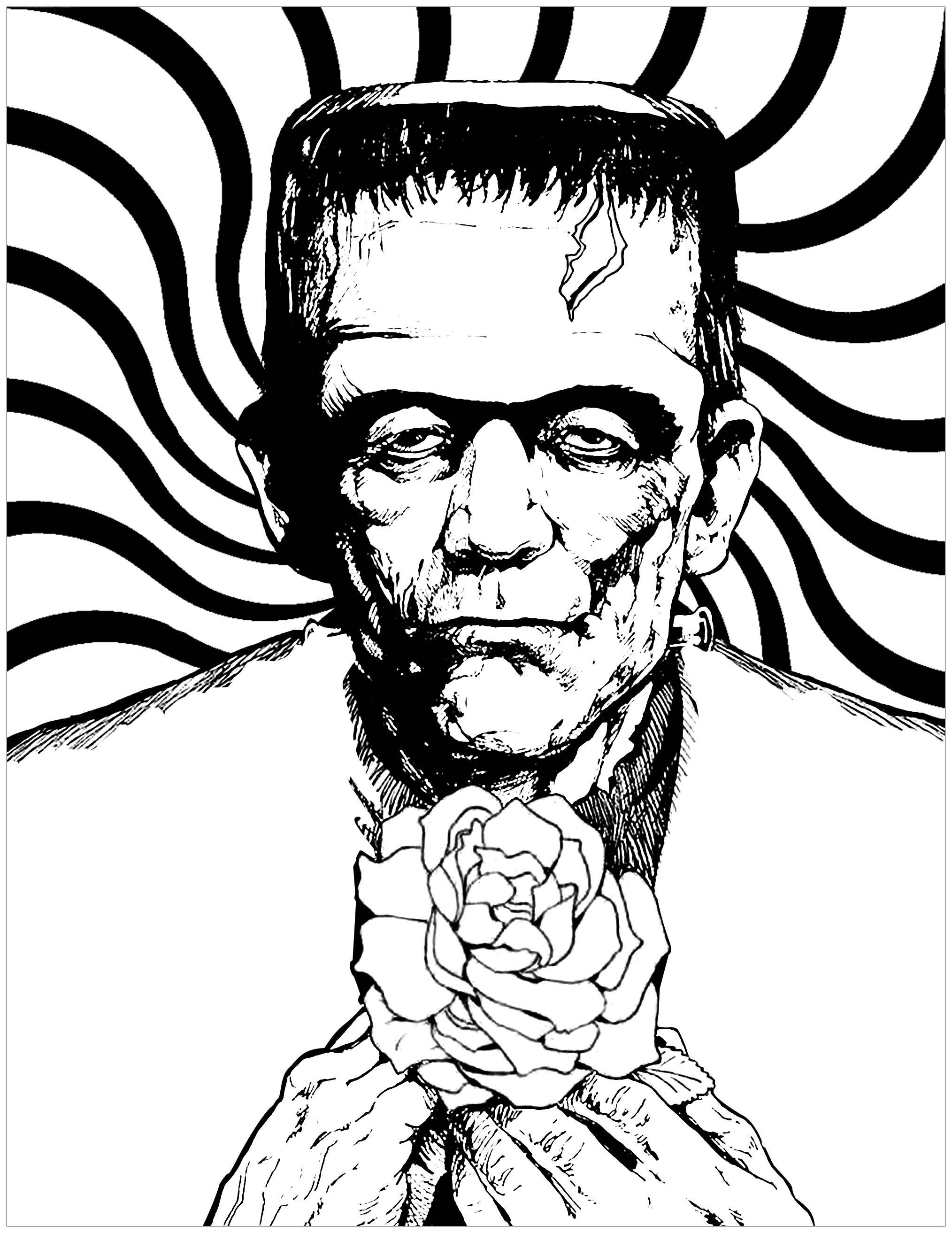 24 Awesome Picture Of Frankenstein Coloring Pages Davemelillo Com Monster Coloring Pages Halloween Coloring Sheets Halloween Coloring