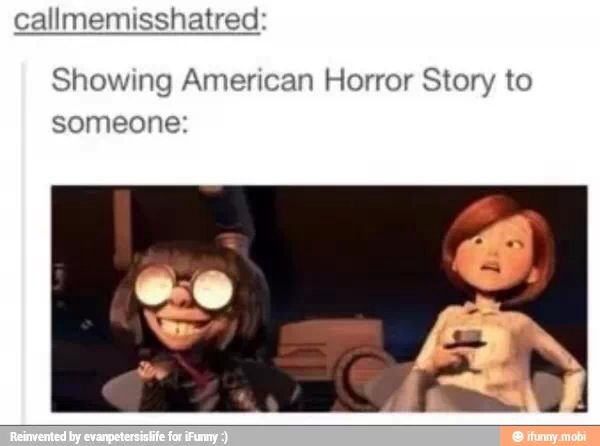 American horror story is amazing