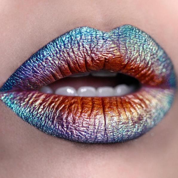 20 Wildly Gorgeous And Creative Lip Art Designs Pampadour Lipstick Art Lip Art Makeup Art