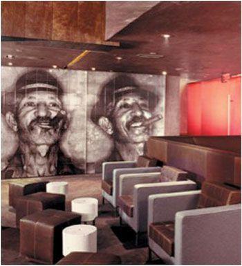 Imagine Tile Gallery Cigar Lounge Decor Cuban Decor Custom Wall Murals