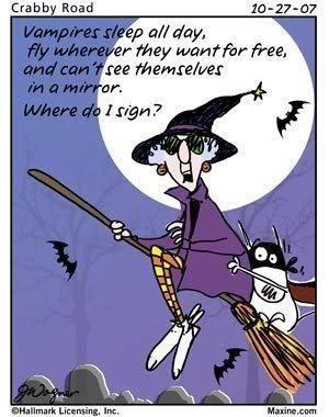 Good Old Maxine .... Ya Just Gotta Love Her! PY · Funny Halloween  QuotesHalloween HumorHappy ...