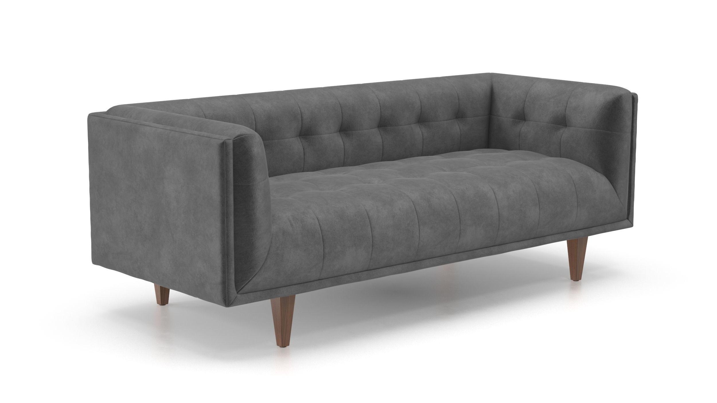Blau Grau Sofa Blau Wohnzimmer Möbel Samt Sofa Blau Weiß Sofa Design