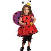 Ladybug Toddler Costume -  Size 2-4T