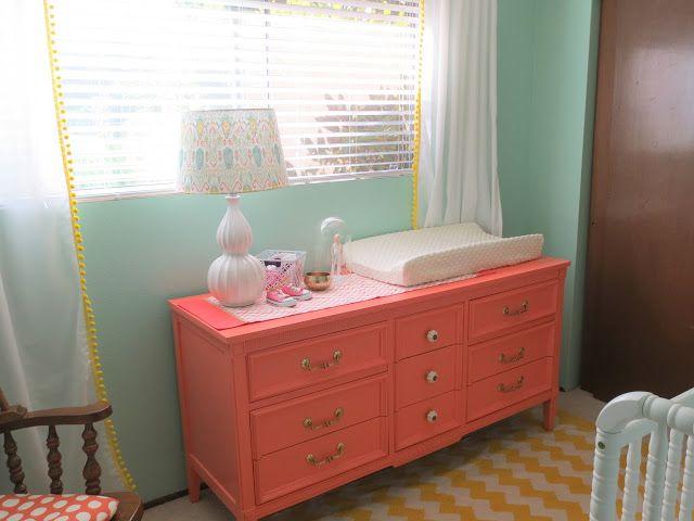 Make Bake Amp Love Diy Coral Dresser Drawer Liner