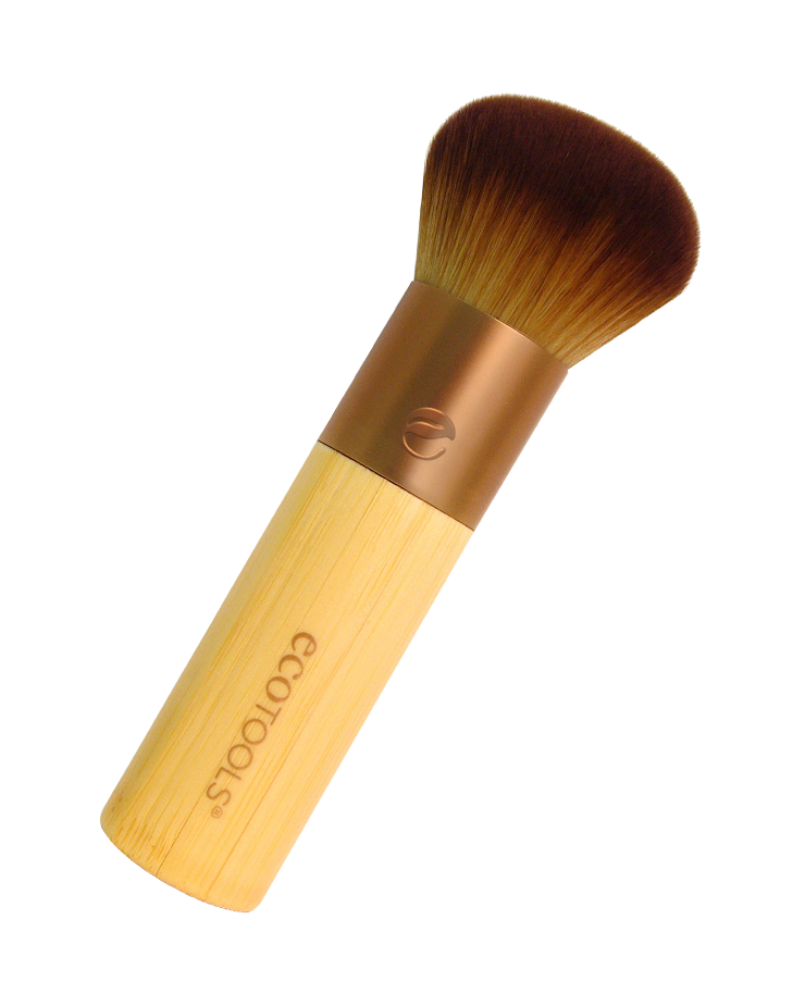 Domed Brush - great for applying bronzer, even better for applying foundation! #ecotools #crueltyfree