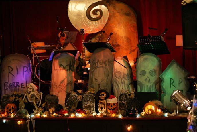 live musical, tim burton film nightmare before xmas | sets ...