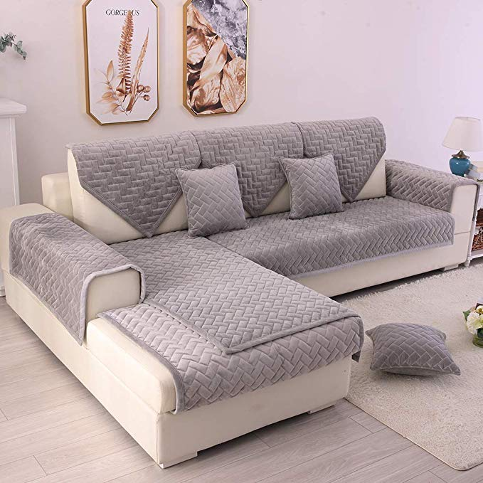Amazon Com Tewene Couch Cover Sofa Cover Couch Covers Sectional Couch Covers Anti Slip Sofa Slipcover For In 2020 Sectional Couch Cover Couch Covers Slipcovered Sofa