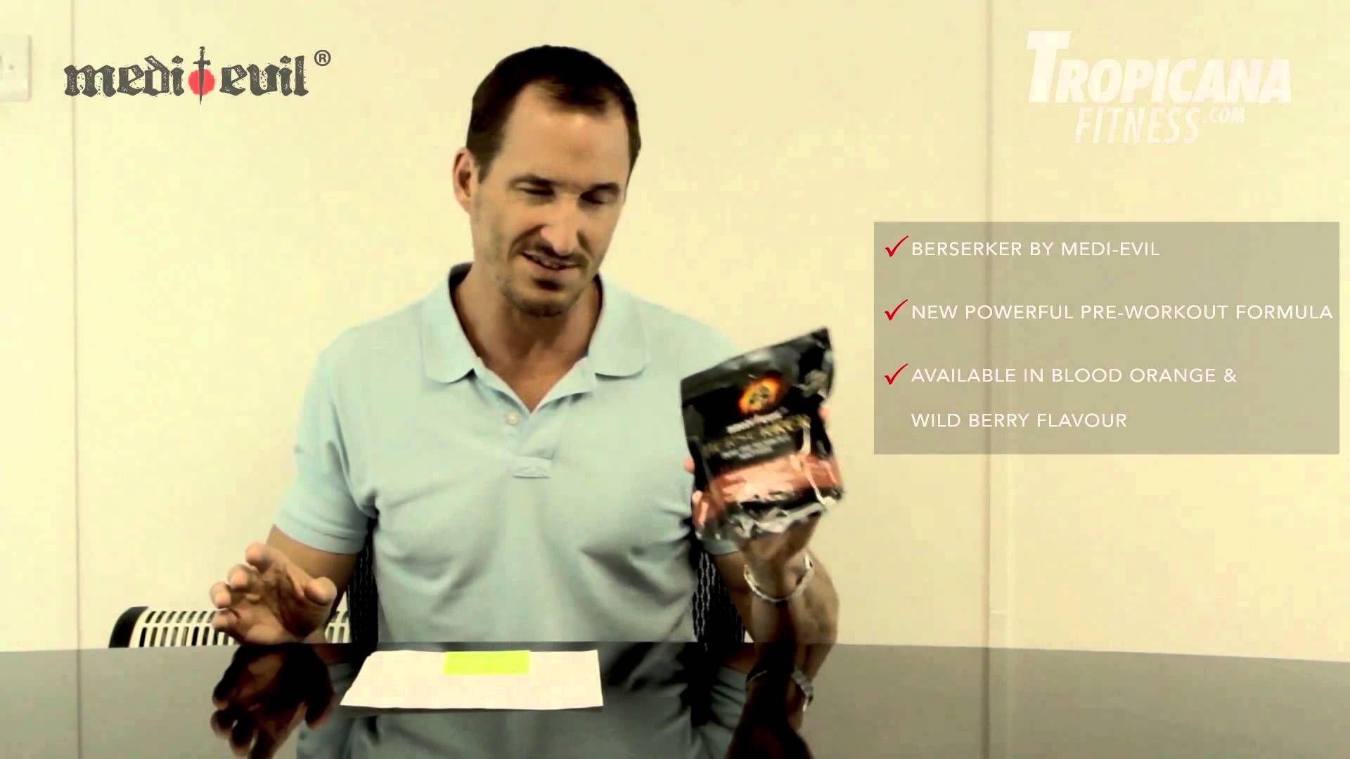 Product Review Of Berserker From Medi Evil By Mark Gilbert Regulatory Affairs Preworkout Evil